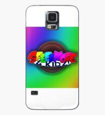Speedkore 4 Kidz (Background) Case/Skin for Samsung Galaxy