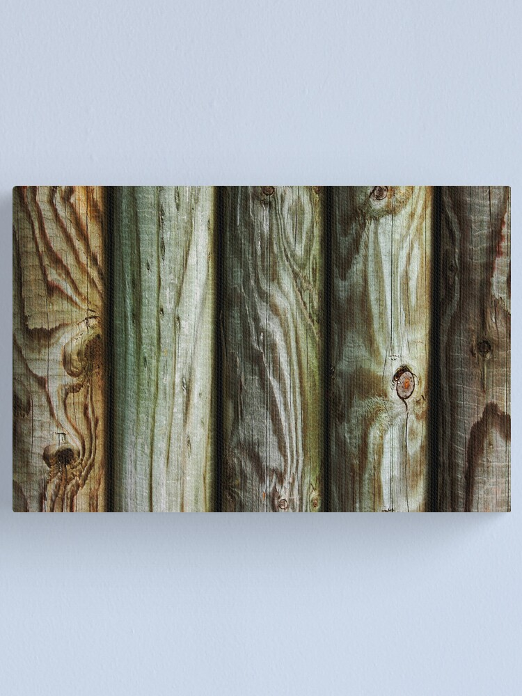 Alternate view of Wooden Canvas Print
