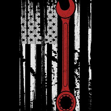 American Mechanic Wrench by biggeek