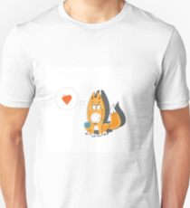 Lover foxes. T-Shirt
