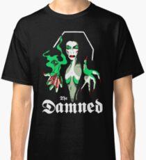 THE DAMNED Vampira Classic T-Shirt