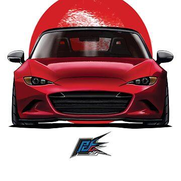 MAZDA MIATA MX5 ND RED by naquash