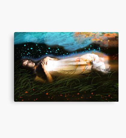 The Deep Sleep Canvas Print
