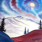 Colorado moon by Kevin McGeeney