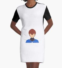 Chris Vector Graphic T-Shirt Dress