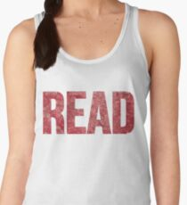 Read Dictionary Page Red Women's Tank Top
