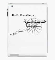 Gatling Gun iPad Case/Skin