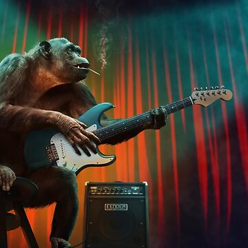 Monkey Music by Zzart