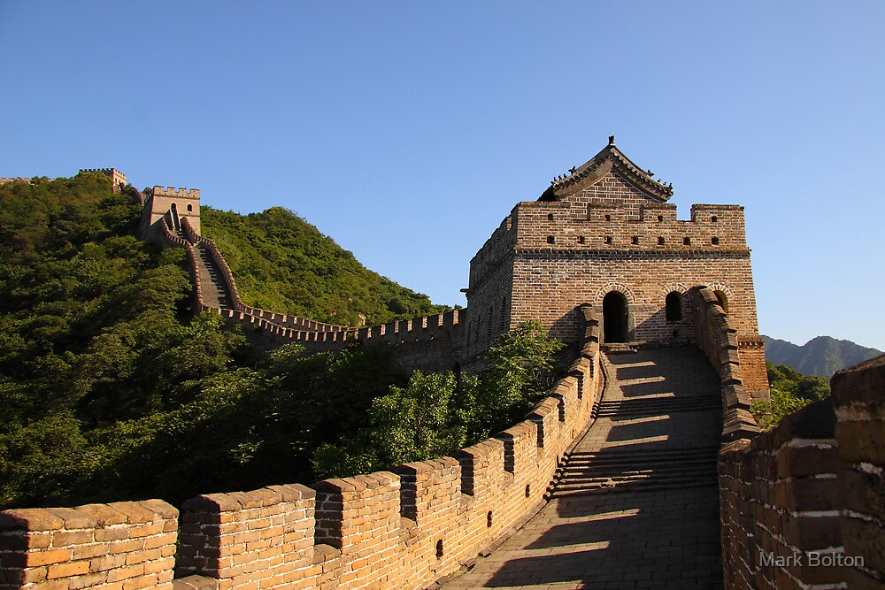 Great Wall of China by Mark Bolton