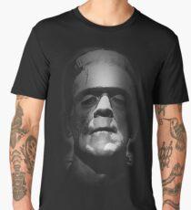 Frankenstein Monster Boris Karloff Face Men's Premium T-Shirt