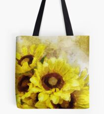 Serenity Sunflowers Tote Bag