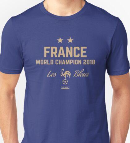 France Champion Du Monde 2018 • Les Bleus • Football World Cup Champion 2018 ID 3-3 T-Shirt