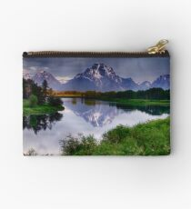 Mt. Moran at Oxbow Bend Studio Pouch
