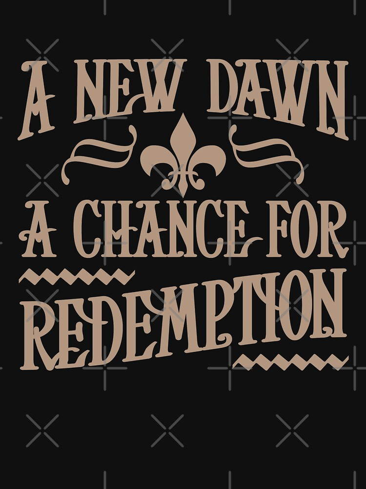 A NEW DAWN A CHANCE FOR REDEMPTION by Sparty1855
