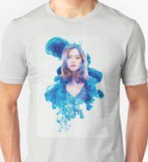 Clara Oswin Oswald Blue Smoke Unisex T-Shirt