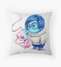 Pokémon Mew & Sadness Throw Pillow