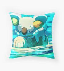 Komala in the River Throw Pillow