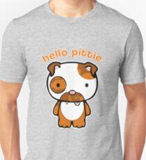 Hello Pittie Slim Fit T-Shirt