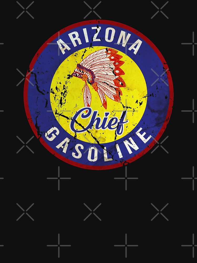 ARIZONA CHIEF GASOLINE OIL COMPANY LOGO by Sparty1855