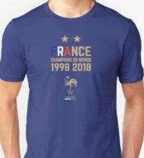 France Champion Du Monde 2018 • Les Bleus • Football World Cup Champion 2018 ID 4-3 Unisex T-Shirt