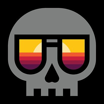 Sunset Skull by quilimostock