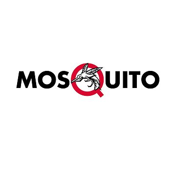 Mosquito Text Mascot by patrimonio