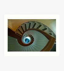 Light house stairs 2 Art Print