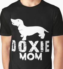 Dachshund Mom Graphic T-Shirt