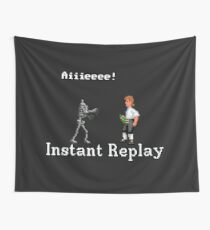 LeChuck's death Wall Tapestry