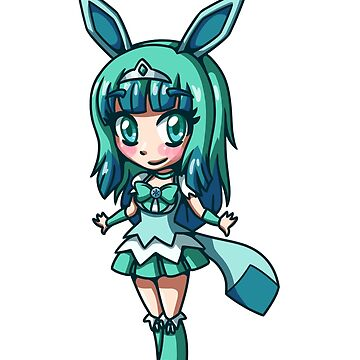 Glaceon Magical Girl Chibi by LankySandwich