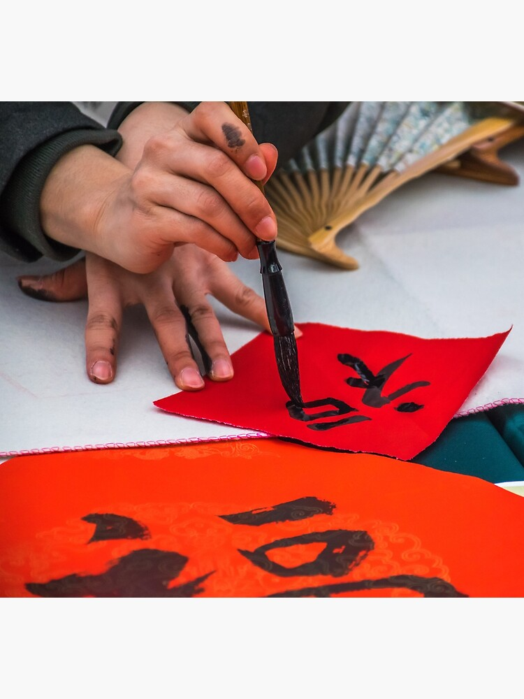 Calligraphy demonstration in Chinatown by tdphotogifts