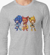Gen 1 Eeveelution Squad Long Sleeve T-Shirt