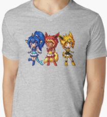 Gen 1 Eeveelution Squad Men's V-Neck T-Shirt