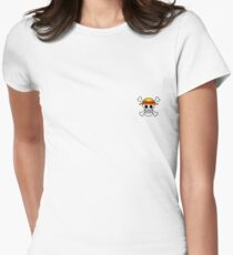 Logo: Monkey D. Luffy | ONE PIECE Women's Fitted T-Shirt
