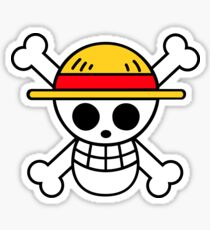 Logo: Monkey D. Luffy | ONE PIECE Sticker