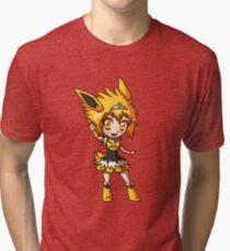 Jolteon Magical Girl Chibi Tri-blend T-Shirt