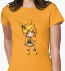 Jolteon Magical Girl Chibi Women's Fitted T-Shirt