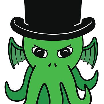 Little Cthulhu in a Top Hat by psychodork