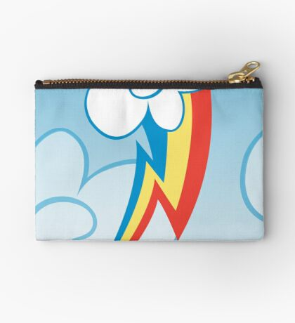 Rainbow Dash among the clouds Studio Pouch