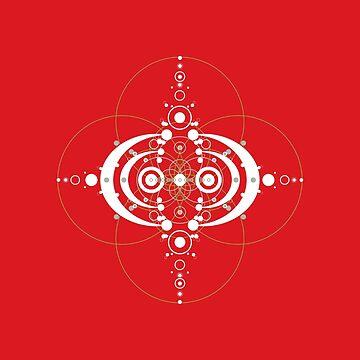 Deco Red by Landrigan