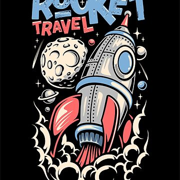 Rocket Travel by criarte