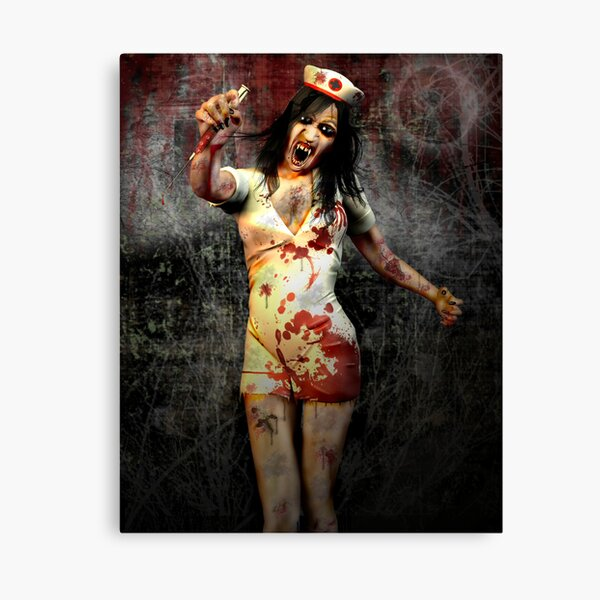 The Nurse Is In. Canvas Print