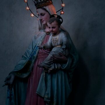 Madonna with Child by reilly58