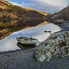 Llyn Eigiau, Snowdonia by RamblingTog