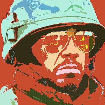 Robert downey jr -  tropic thunder by oryan80