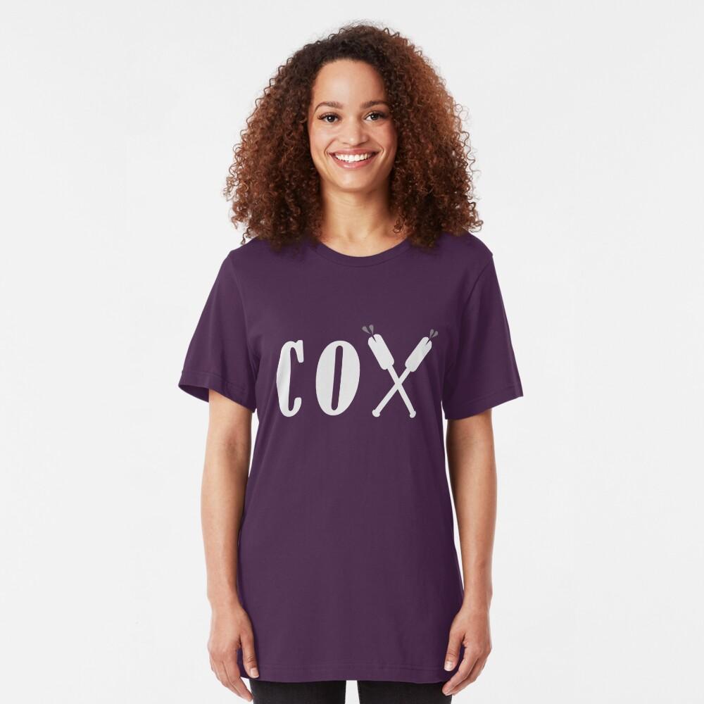 Cox Oars Slim Fit T-Shirt