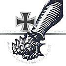 Teutonic Knights Iron Fist and Iron Cross  by edsimoneit