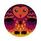 Singularian Pride Owl by FurvaNoctua