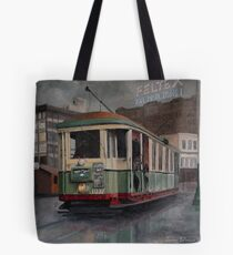Sydney O-class Tram at Railway Square Tote Bag