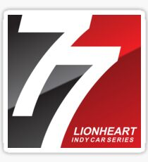 Lionheart Indycar Pillows and Stickers Sticker